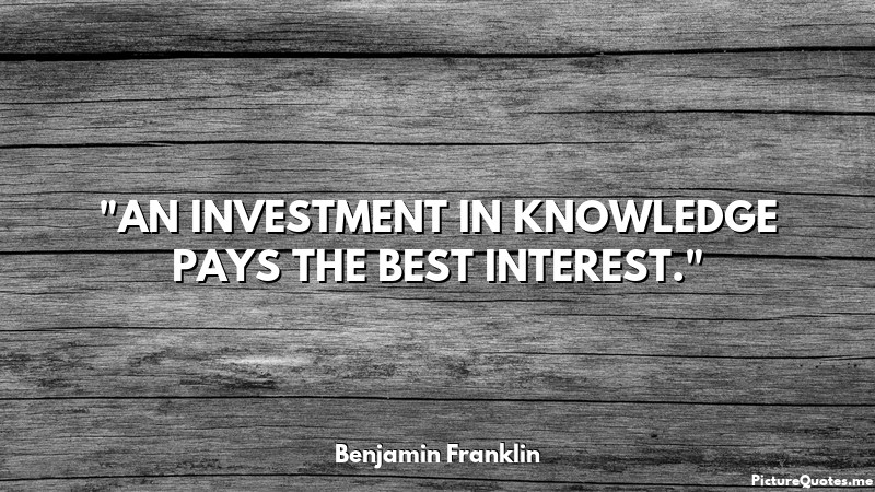Www Inspirational Quotes Wallpaper An Investment In Knowledge Pays The Best Interest