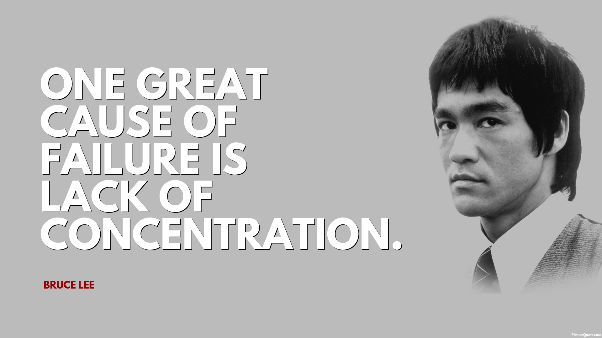 Www Inspirational Quotes Wallpaper One Great Cause Of Failure Is Lack Of Concentration