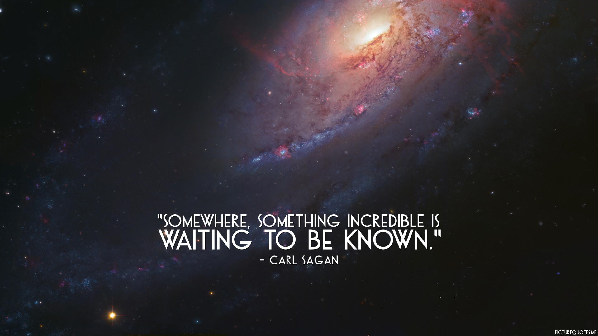 Vincent Van Gogh Quotes Wallpaper Somewhere Something Incredible Is Waiting To Be Known