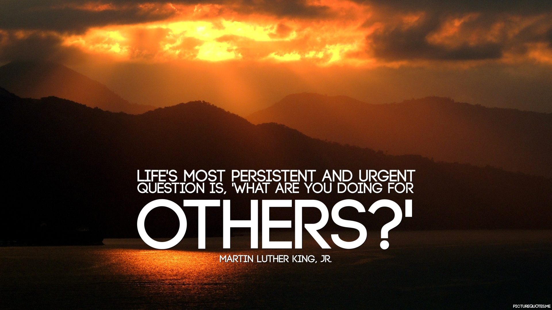 Make Own Quote Wallpaper Life S Most Persistent And Urgent Question Is What Are