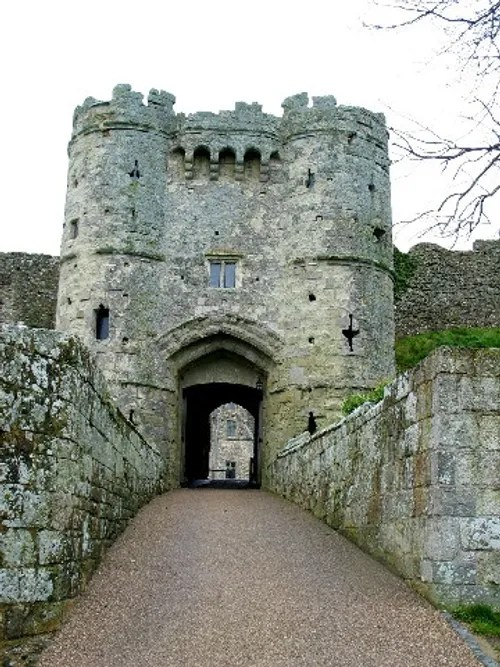 Car Wallpaper Slideshow Quot Carisbrooke Castle Gate Tower Quot By Robin Granse At