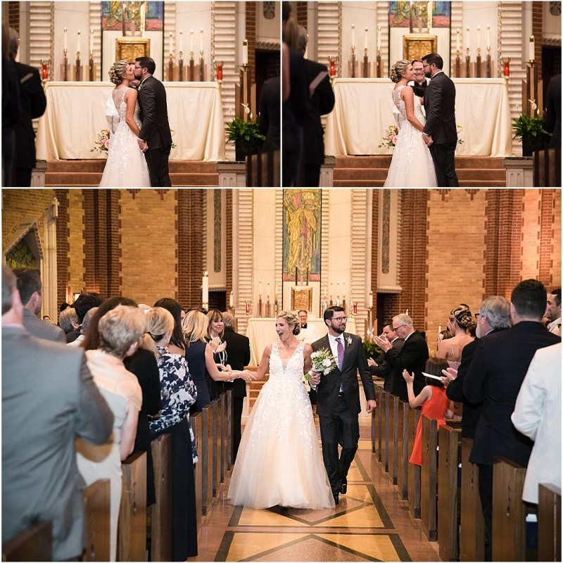 Christ the King Parish Wedding The Bond Reception Tulsa Oklahoma Picturesque Photos by Amanda_0053