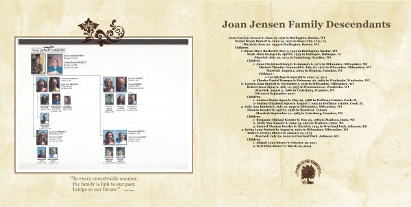 How to Tell Your Family History in a Keepsake Photo Album - how to make a family tree book