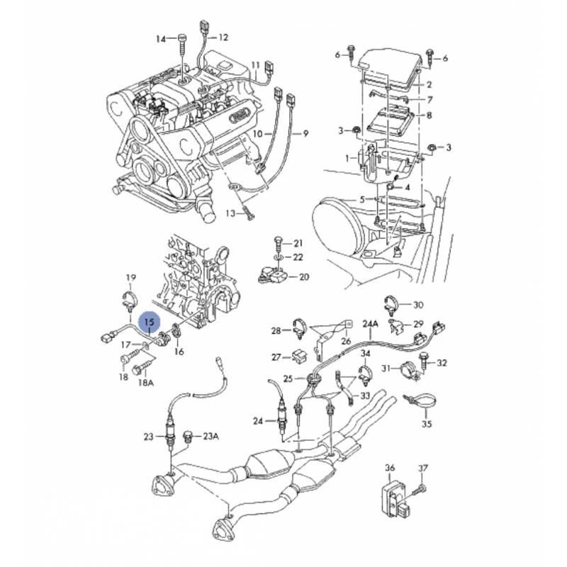 schema moteur audi q7