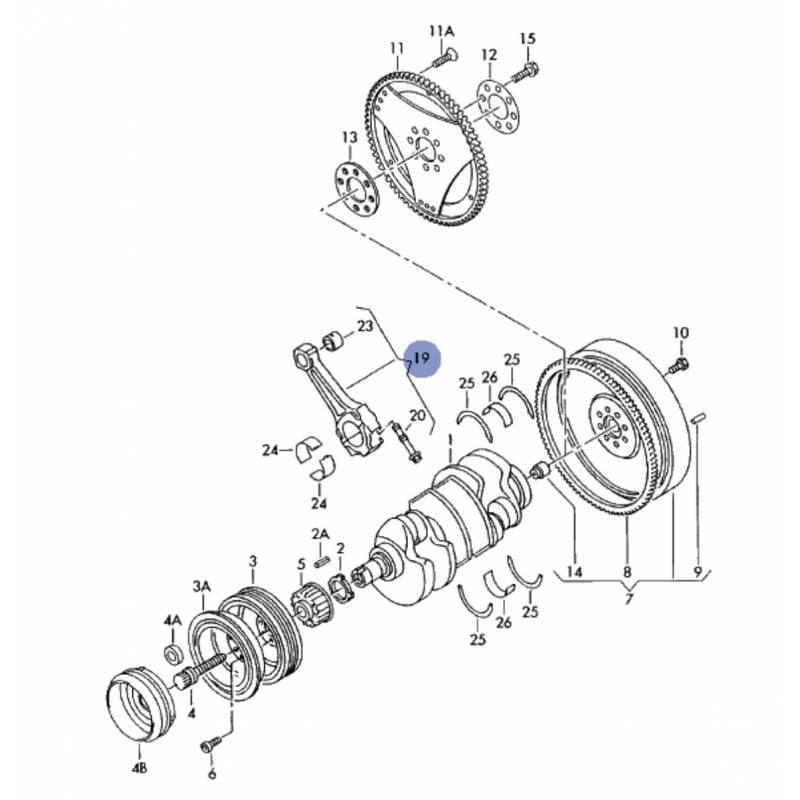 schema motor audi a6
