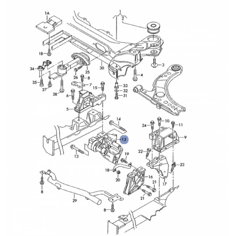 mclaren schema moteur golf