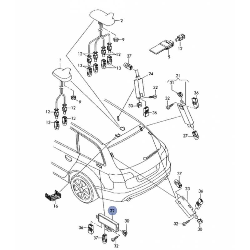 audi a4 satellite radio wiring diagram