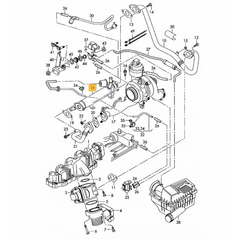 seat schema moteur mecanisme de gaz