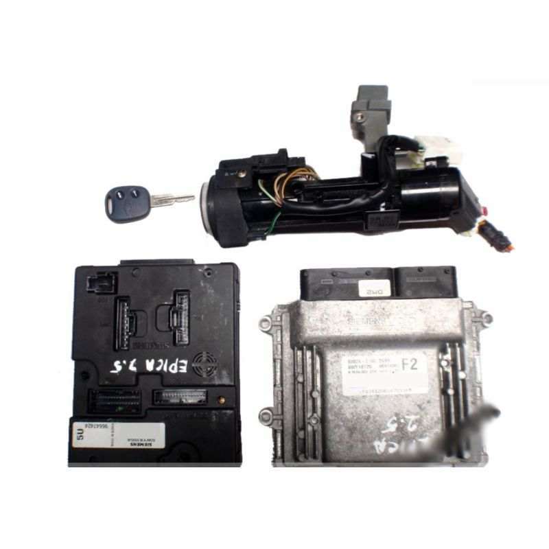 Engine control, unit ecu motor chevrolet epica 5wy1b12g 96418362