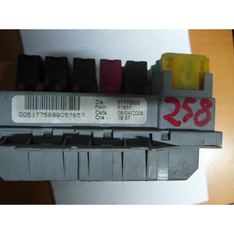 Fuse box module bsi fiat bravo, 51775688, sale auto spare part on