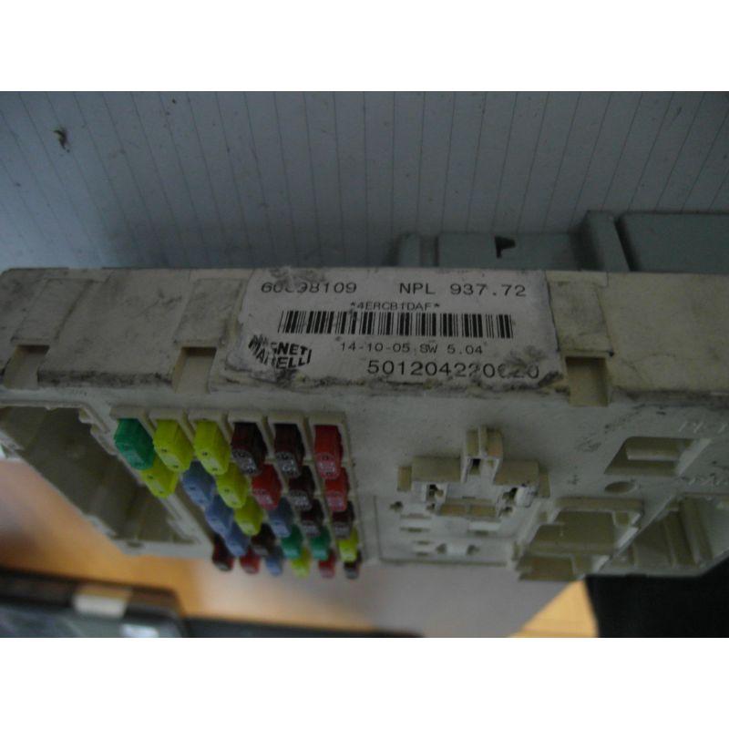 Fuse box module bsi alfa romeo 147, 46558758, sale auto spare part