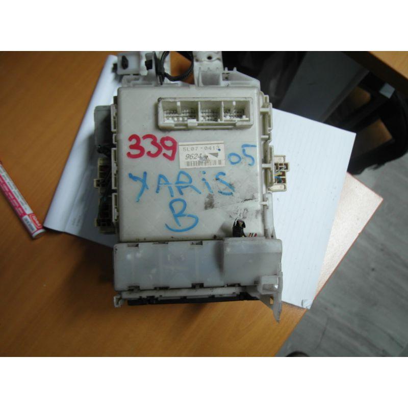 Fuse box module bsi toyota yaris, b, 51017-2090,9410, sale auto