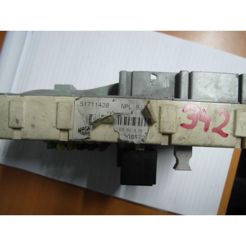Fuse box module bsi alfa romeo 147, 51711428, sale auto spare part