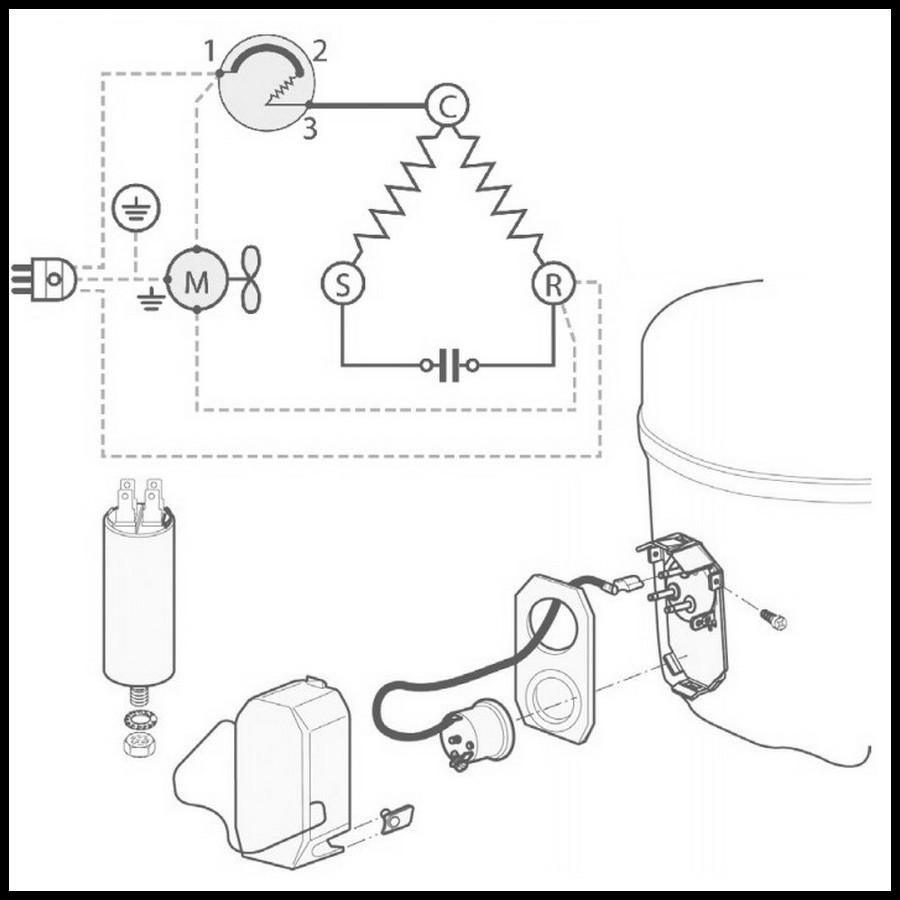 220v schematic schema cablage