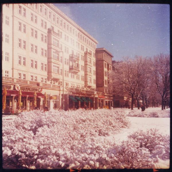 berlin, friedrichshain, winter, prachtallee