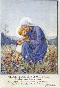 Cicely Mary Barker: Madonna and Child