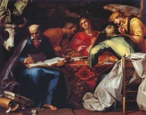 Abraham Bloemaert's The Four Evangelists