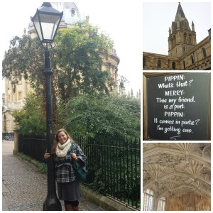 With the lamppost that allegedly inspired The Lion, the Witch, and the Wardrobe; the church where Newman gave his last sermon as an Anglican; a sign in the pub where Lewis and Tolkien used to meet with their fellow Inklings; the ceiling of the theology college, where Campion used to debate his colleagues.
