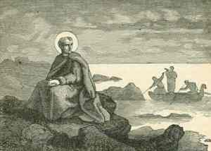 Pope St. Silverius, from Butler's Pictorial Lives of the Saints