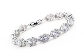French Design 925 Sterling Silver Bracelets For Woman With