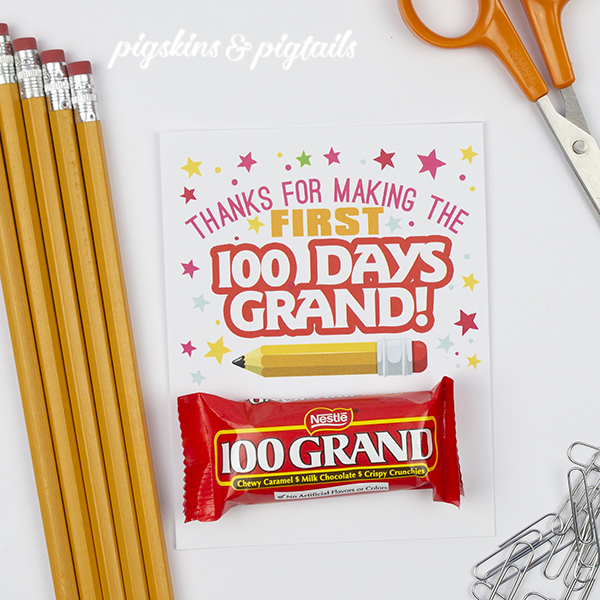 5 Fun Ways to Celebrate the 100th Day of School - Pigskins  Pigtails