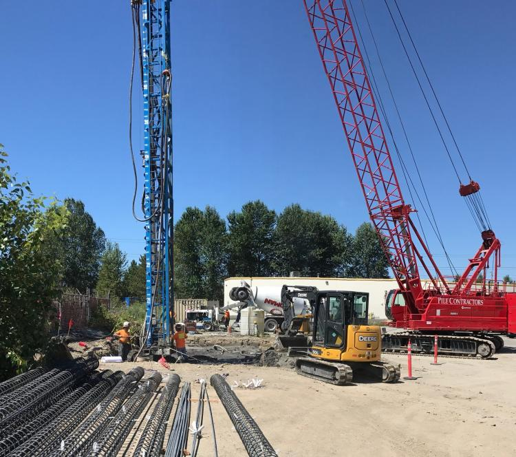 Sheet Pile, Augercast Pile, Steel Pile, Shoring, Soldier Pile