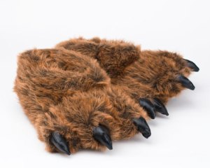 And those are grizzly bear paws. Raar.