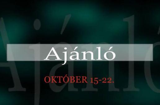 Műsorajánló 2014. október 15-22.