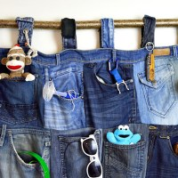 Tutorial for a Great Denim Pocket Organiser