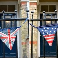 Flag Upcycled Denim Bunting 2 Ways