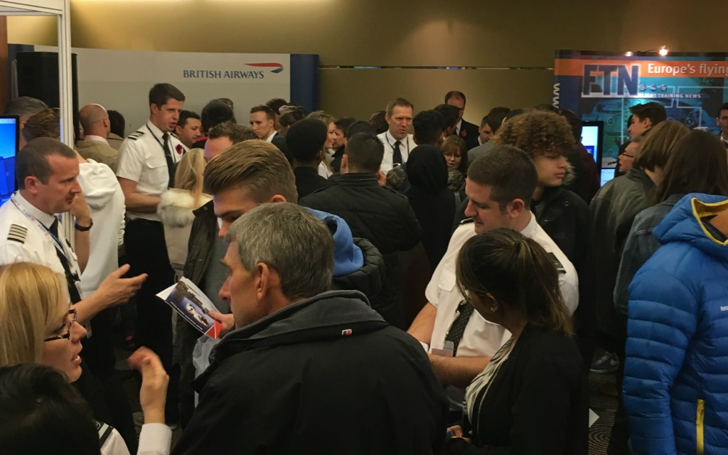 Pilot Careers Live London welcomes record numbers of aspiring pilots - live careers