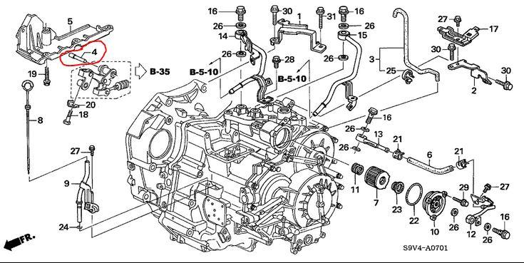 2003 Honda Odyssey Transmission Diagram Online Wiring Diagram