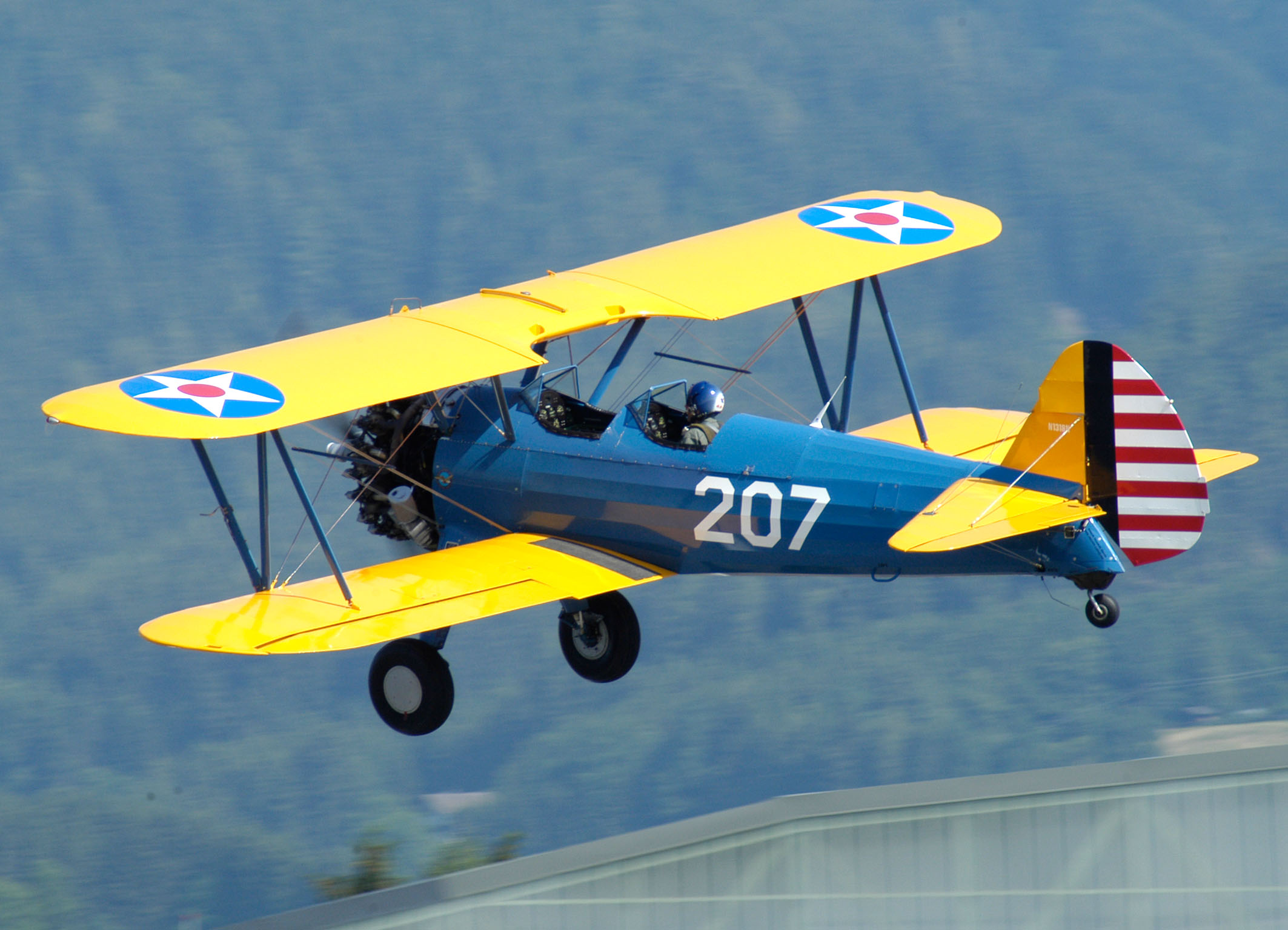 Boeing Stearman aircraft history, performance and specifications