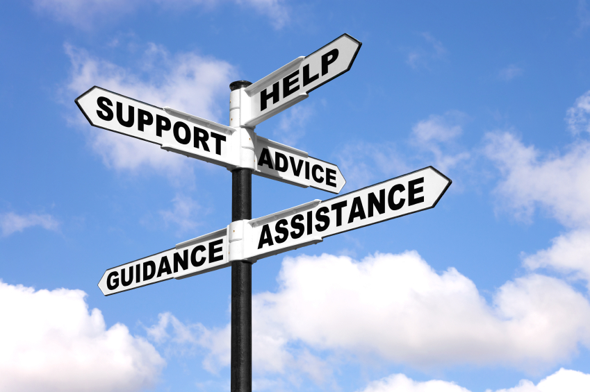 Help and support signpost - Pilot Partners - help and support
