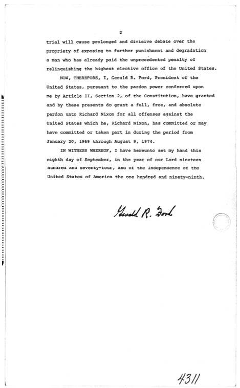 NIXON RESIGNATION LETTER - nixon resignation letter