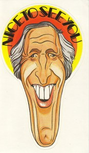 Nice to See You - Sticker - Bruce Forsyth