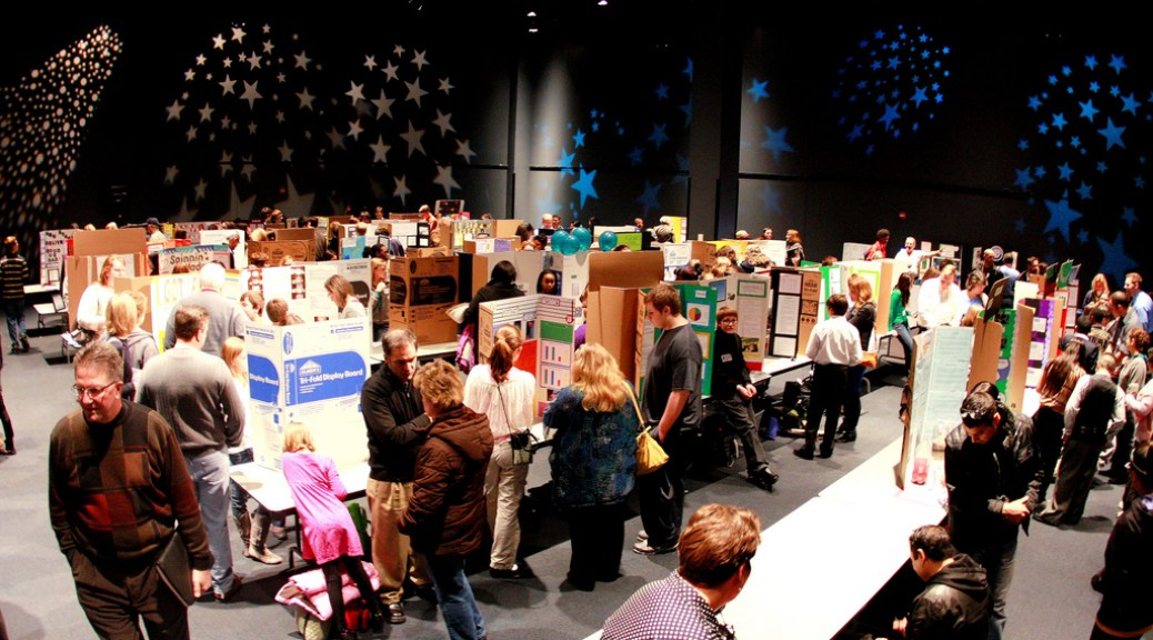 Middle School Science Fair by Phil Roeder