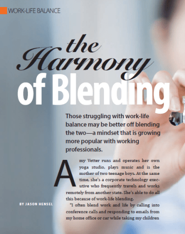 Harmony of Blending