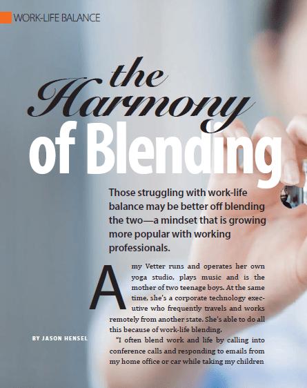 Harmony of Blending
