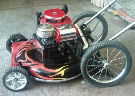 Projects With Lawn Mower Engines Custom Briggs Mower