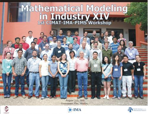 Cimat Ima Pims Math Modelling In Industry Workshop