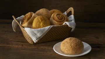 Max's Corner Bakery's Pan de Macapuno and Pan de Keso
