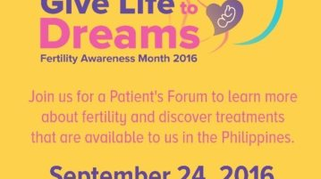give-life-to-dreams-patient-forum-invite
