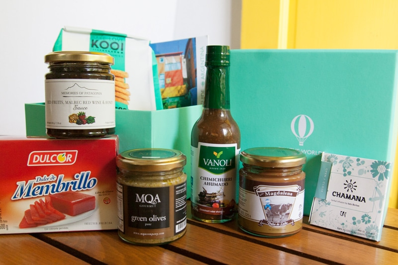 Try the World Review - Argentina Box