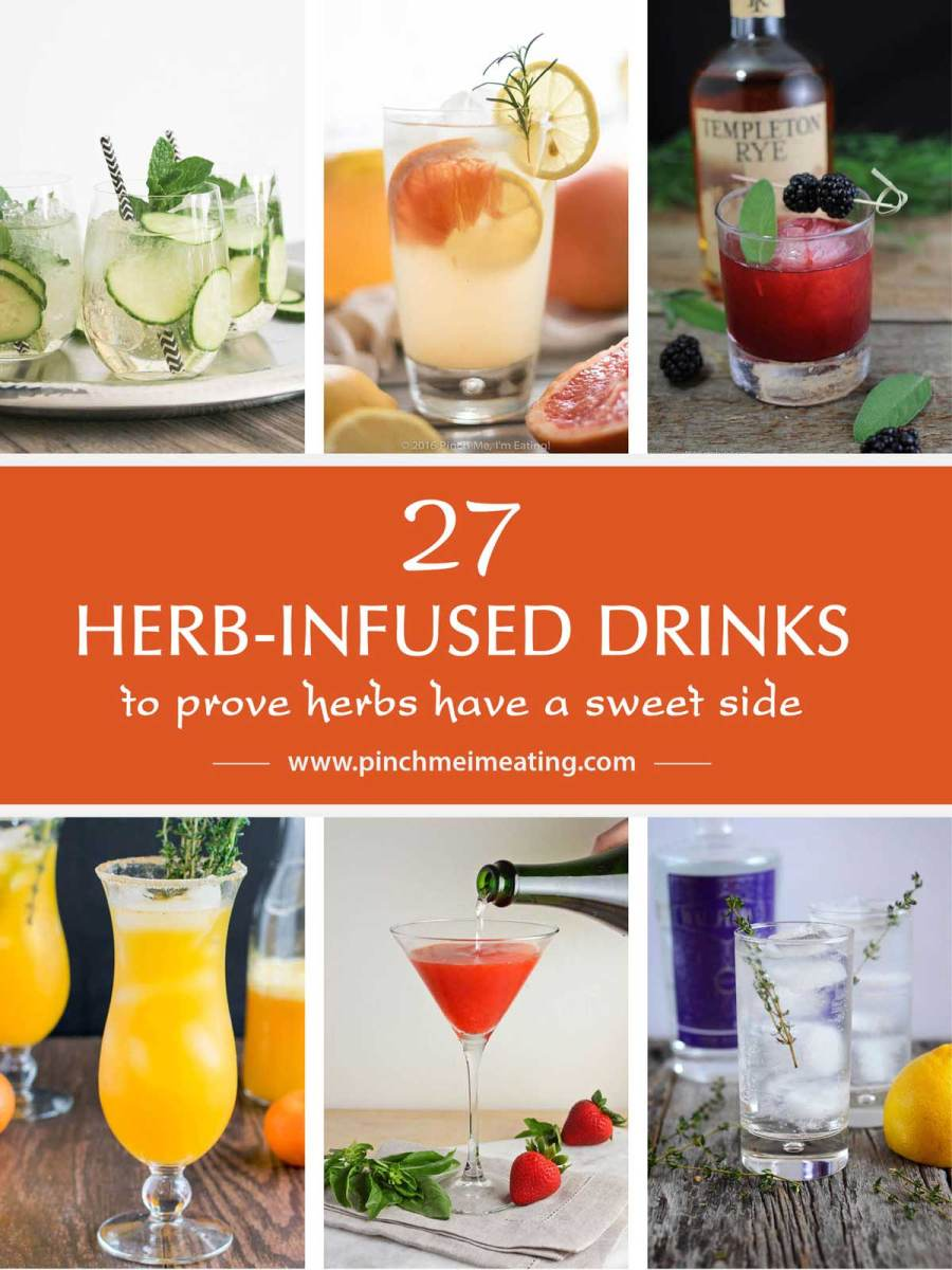27 Herb-Infused Drinks to Prove Herbs Have a Sweet Side