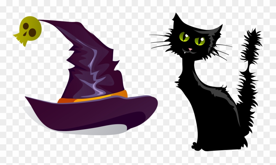 Svg Black And White Cat Clipart Free - Black Cat Emoji For Iphone