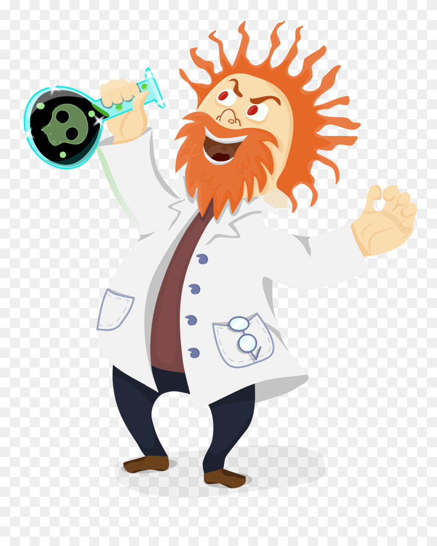 Mad Scientist Science Research Computer Icons - Scientist Clipart