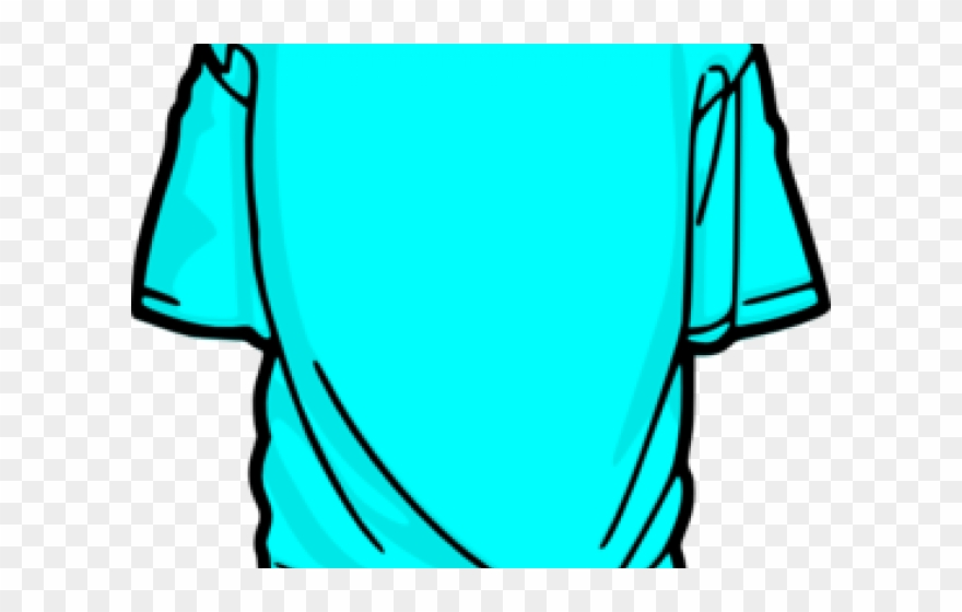 Tee Shirt Clipart - Transparent T Shirt Clipart - Png Download