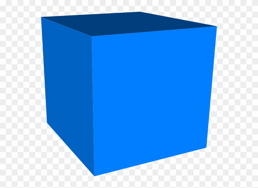3d Cube Cliparts - 3d Blue Cube Png Transparent Png (#113447