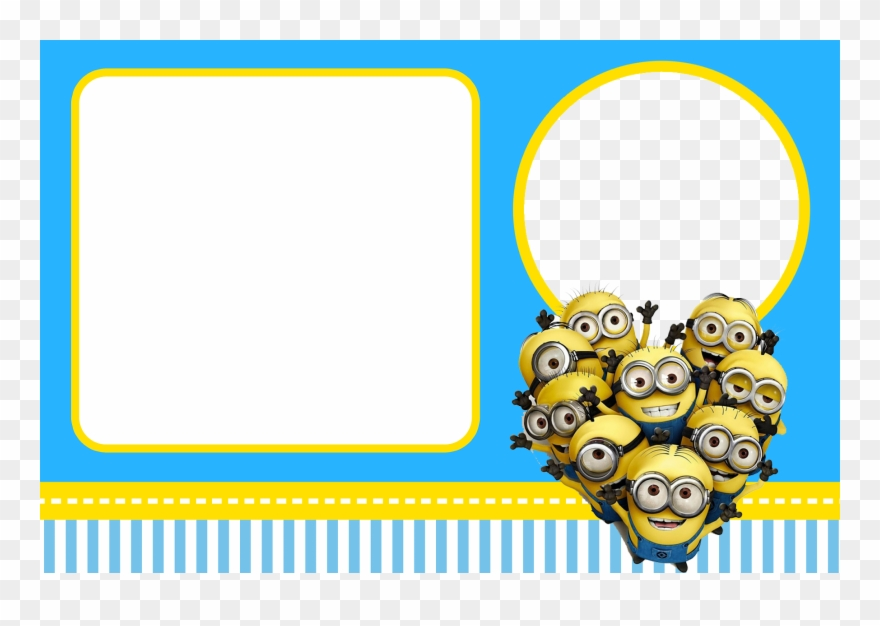 Free Despicable Me Party Invitations - Minions Birthday Card